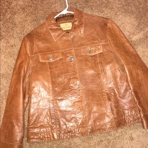 King Ranch Leather Jacket